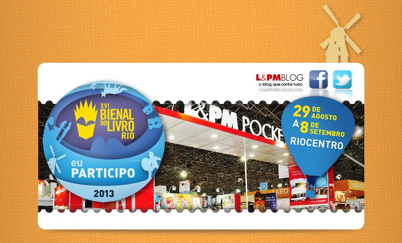 L&PM na XVI Bienal Internacional do Livro do Rio de Janeiro