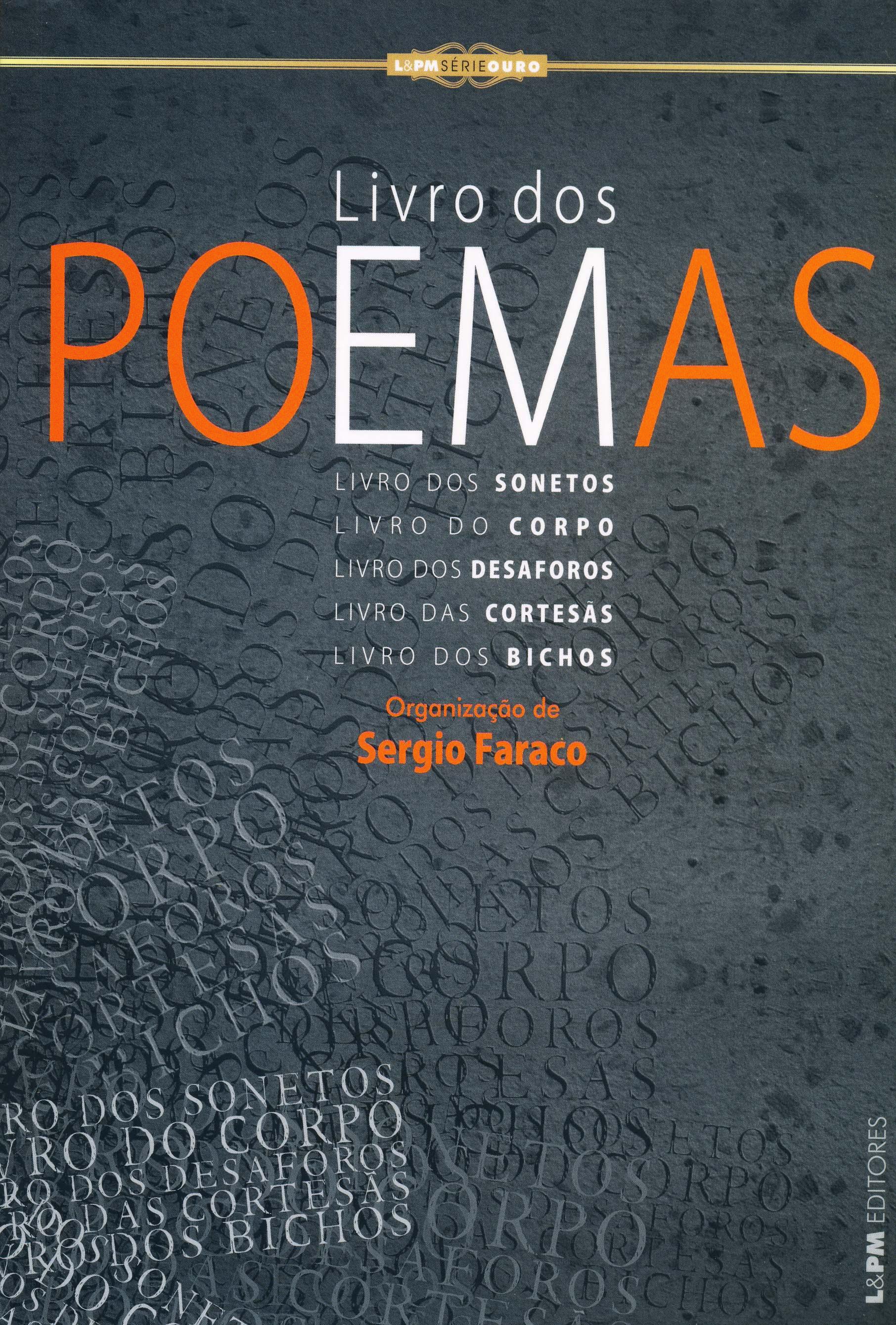 Amado LIVRO DOS POEMAS - SÉRIE OURO - Organização de Sergio Faraco  IR66